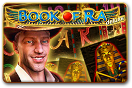 Игровой автомат Book Of Ra DeLuxe онлайн