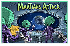 Игровой автомат Martians Attack онлайн