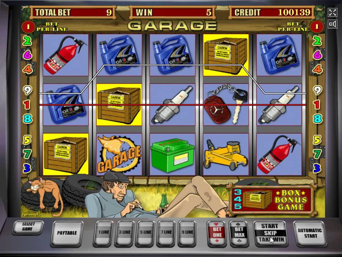 garage-bonus-game