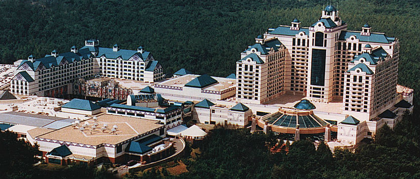 Foxwoods-Resorts-казино-панорама